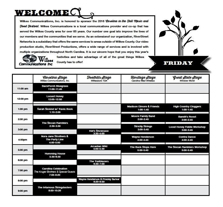 friday-schedule