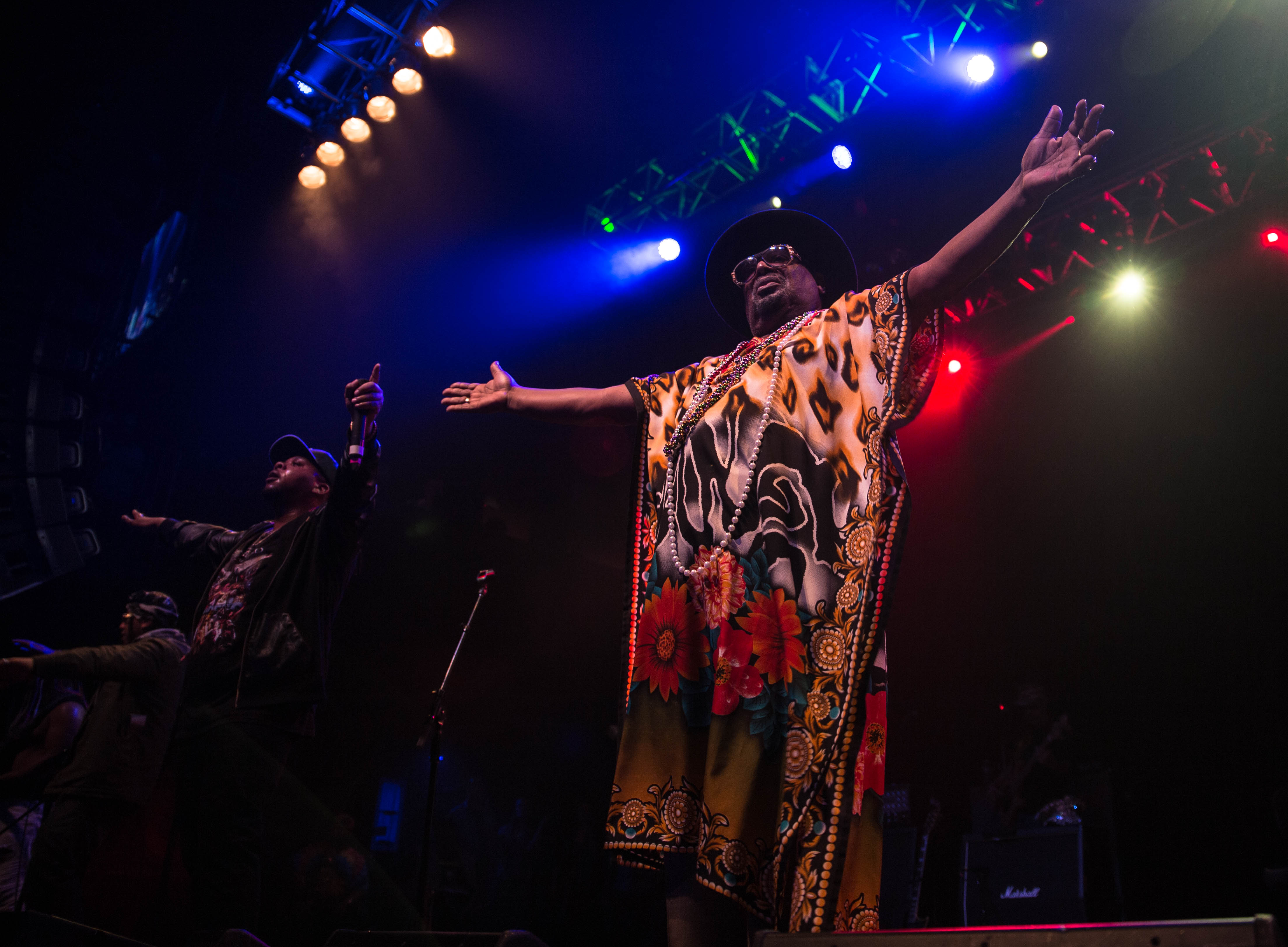 George Clinton Leads Parliament Funkadelic In Colorful